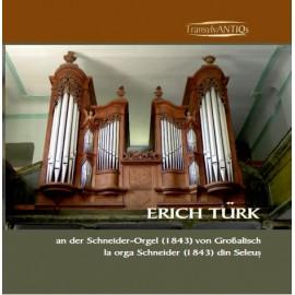 Erich Türk la orga Schneider (1843) din Seleuş